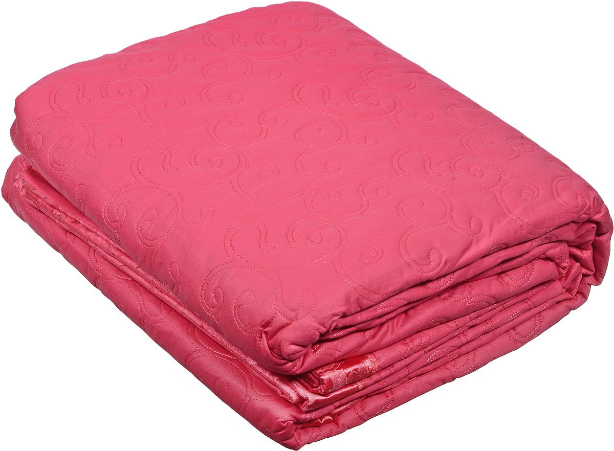 "Cleo Textile Комплект для спальни Cleo ""Сатин"": покрывало 240 х 260 см, 2 наволочки 50 х 70 см, цвет: фуксия 250/04-OPSC-37B"