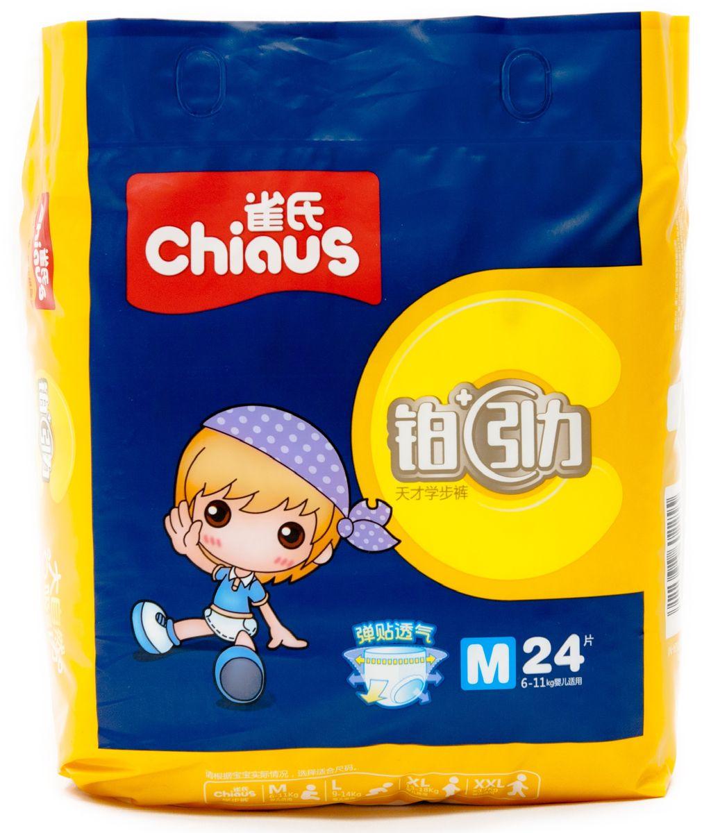 Chiaus Подгузники-трусики Premium M 6-11 кг 24 шт 6922638602255