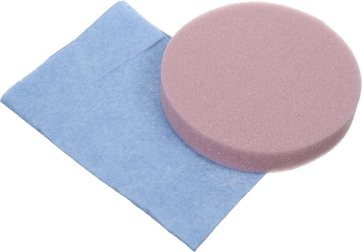 Набор салфеток для полировки автомобиля Runway, цвет: голубой, розовый, 2 штRW646_голубойНабор салфеток для полировки автомобиля Runway состоит из вискозной салфетки и губки. Набор прекрасно полирует автомобиль. Для нанесения полироли используйте вискозную салфетку. Небольшое количество полироли выдавите не салфетку и равномерно нанесите на лакокрасочное покрытие автомобиля. Окончательно располируйте нанесенную полироль губкой. Набор подходит для многократного применения. Размер салфетки: 30 х 30 см. Диаметр губки: 12 см.