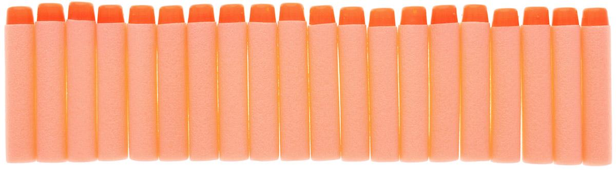 Junfa Toys Набор снарядов для бластера цвет оранжевый 20 шт