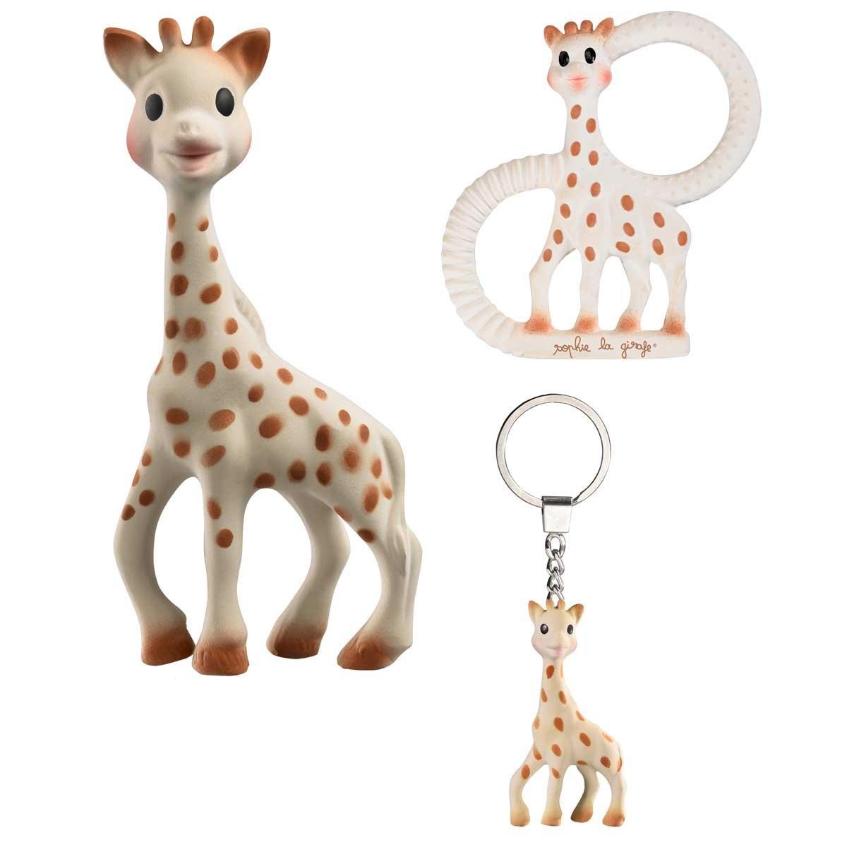 Vulli Набор игрушек-прорезывателей Жирафик Софи 3 в 1