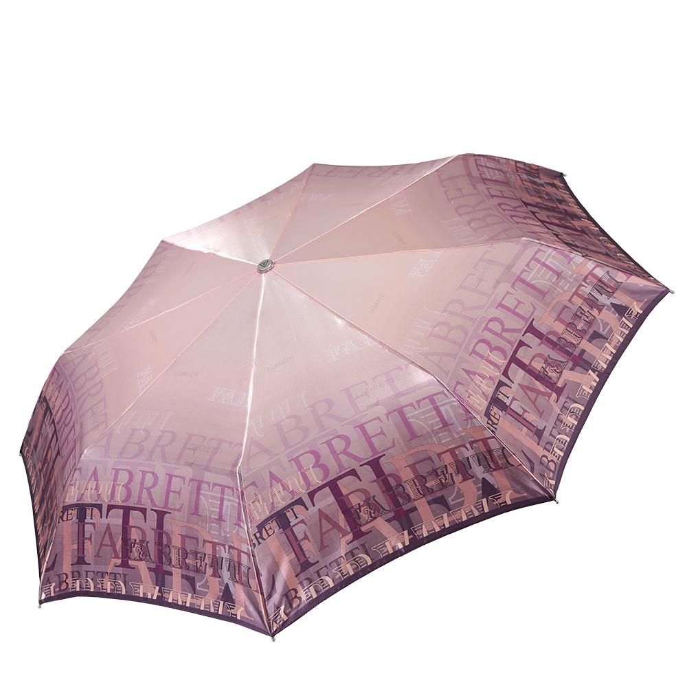 Зонт женский Fabretti, цвет: мультиколор. L-17100-3L-17100-3Женский зонт-суперавтомат, торговой марки Fabretti. Каркас в три сложения, идеально подойдет для женщин. Купол зонтика выполнен из сатина, обработанного водоотталкивающей пропиткой. Ручка разработана с учетом требований эргономики, имеет полиуретановое покрытие. Модель выполнена из качественного материала пестрой расцветки.