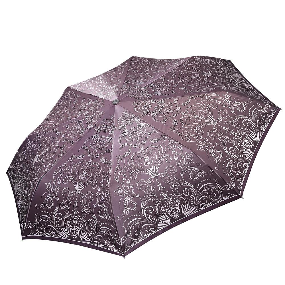 Зонт женский Fabretti, цвет: мультиколор. L-17100-5L-17100-5Классический женский зонт-автоматический, торговой марки Fabretti. Каркас в три сложения идеально подойдет для женщин. Купол зонтика выполнен из полиэстера, обработанного водоотталкивающей пропиткой. Ручка разработана с учетом требований эргономики, имеет полиуретановое покрытие. Модель выполнена из качественного материала.