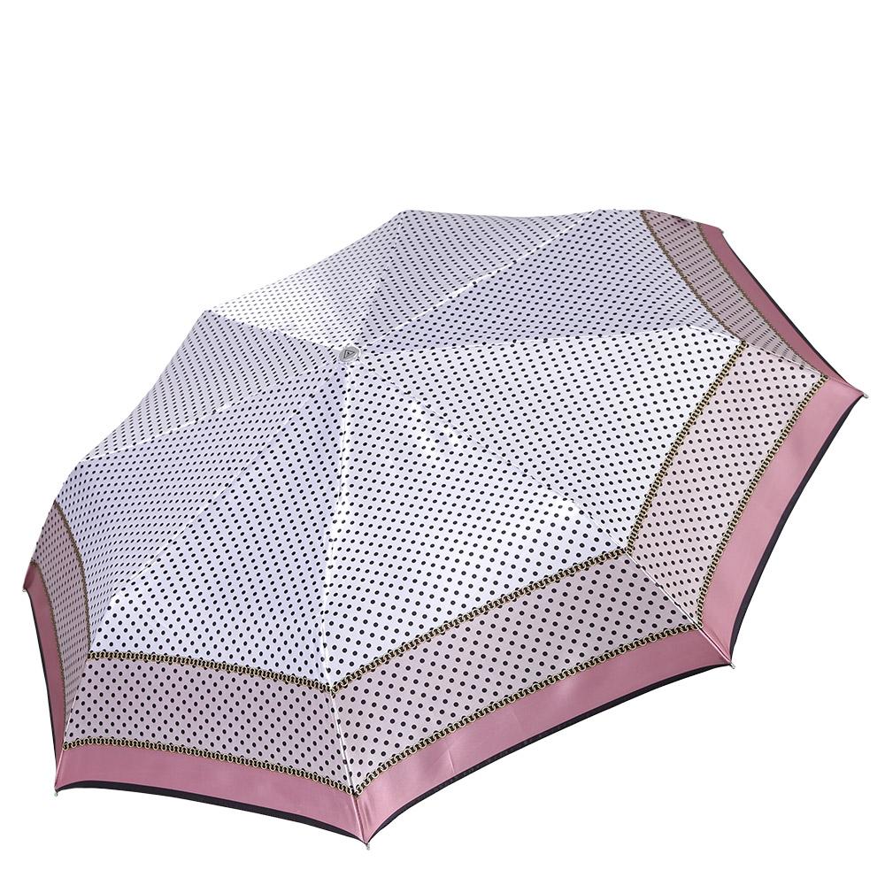 Зонт женский Fabretti, цвет: мультиколор. L-17100-7L-17100-7Классический женский зонт-автоматический, торговой марки Fabretti. Каркас в три сложения идеально подойдет для женщин. Купол зонтика выполнен из полиэстера, обработанного водоотталкивающей пропиткой. Ручка разработана с учетом требований эргономики, имеет полиуретановое покрытие. Модель выполнена из качественного материала.