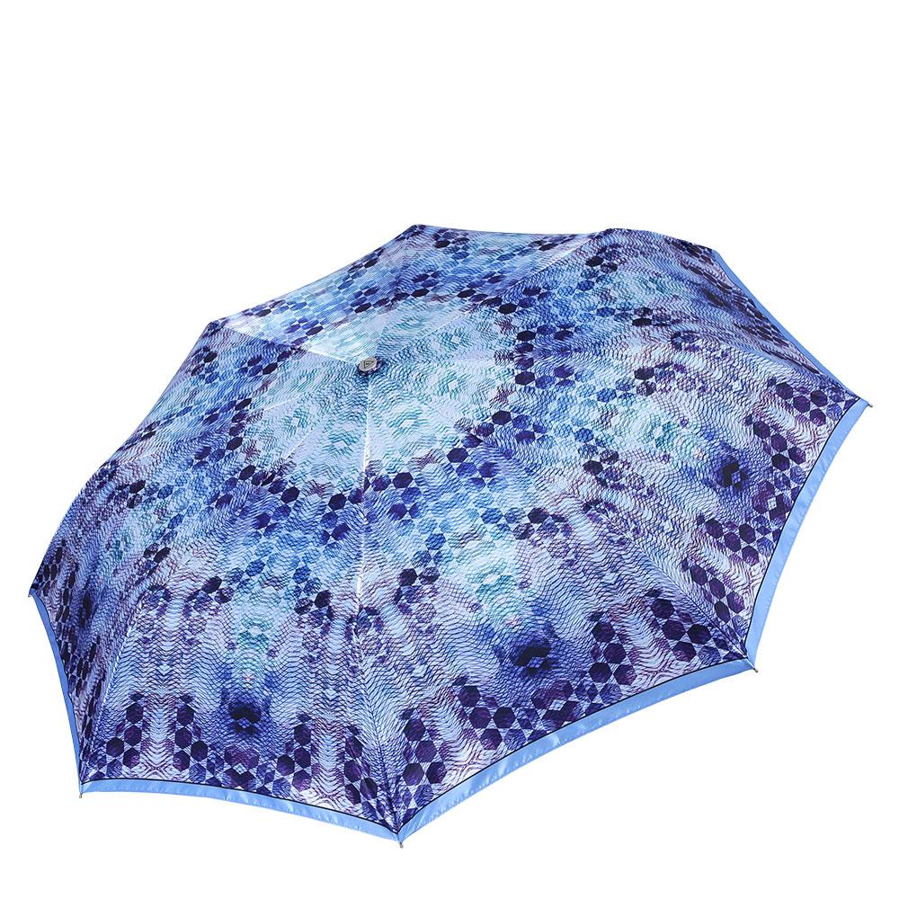 Зонт женский Fabretti, цвет: мультиколор. L-17101-3L-17101-3Классический женский зонт-автоматический, торговой марки Fabretti. Каркас в три сложения идеально подойдет для женщин. Купол зонтика выполнен из полиэстера, обработанного водоотталкивающей пропиткой. Ручка разработана с учетом требований эргономики, имеет полиуретановое покрытие. Модель выполнена из качественного материала.