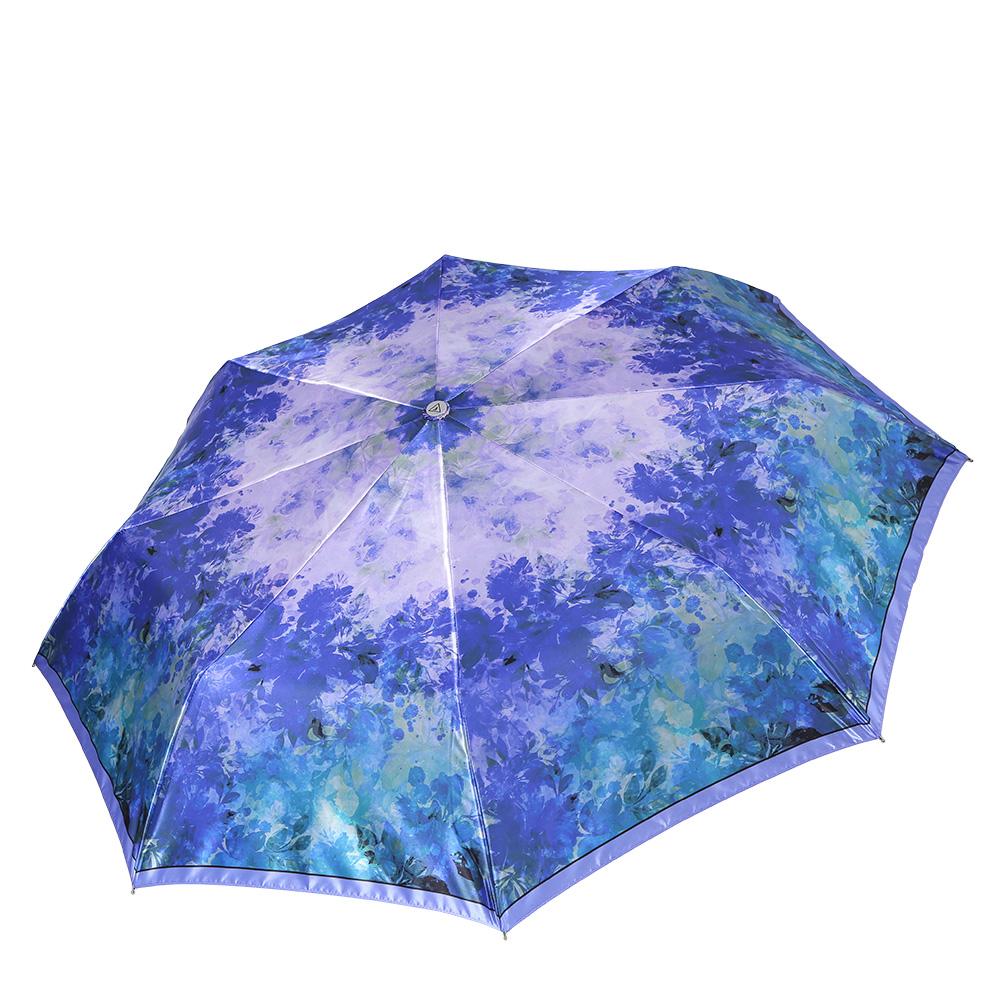 Зонт женский Fabretti, цвет: мультиколор. L-17101-4L-17101-4Классический женский зонт-автоматический, торговой марки Fabretti. Каркас в три сложения идеально подойдет для женщин. Купол зонтика выполнен из полиэстера, обработанного водоотталкивающей пропиткой. Ручка разработана с учетом требований эргономики, имеет полиуретановое покрытие. Модель выполнена из качественного материала.