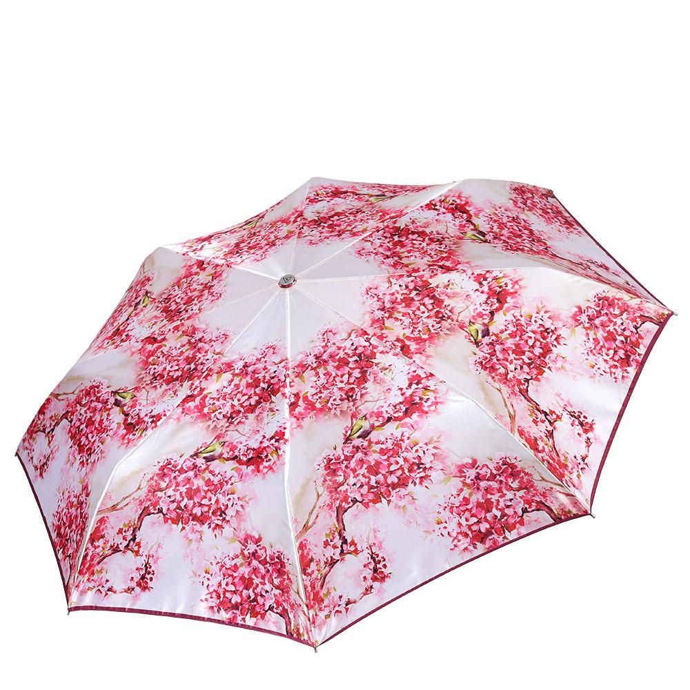 Зонт женский Fabretti, цвет: мультиколор. L-17102-1L-17102-1Классический женский зонт-автоматический, торговой марки Fabretti. Каркас в три сложения идеально подойдет для женщин. Купол зонтика выполнен из полиэстера, обработанного водоотталкивающей пропиткой. Ручка разработана с учетом требований эргономики, имеет полиуретановое покрытие. Модель выполнена из качественного материала.