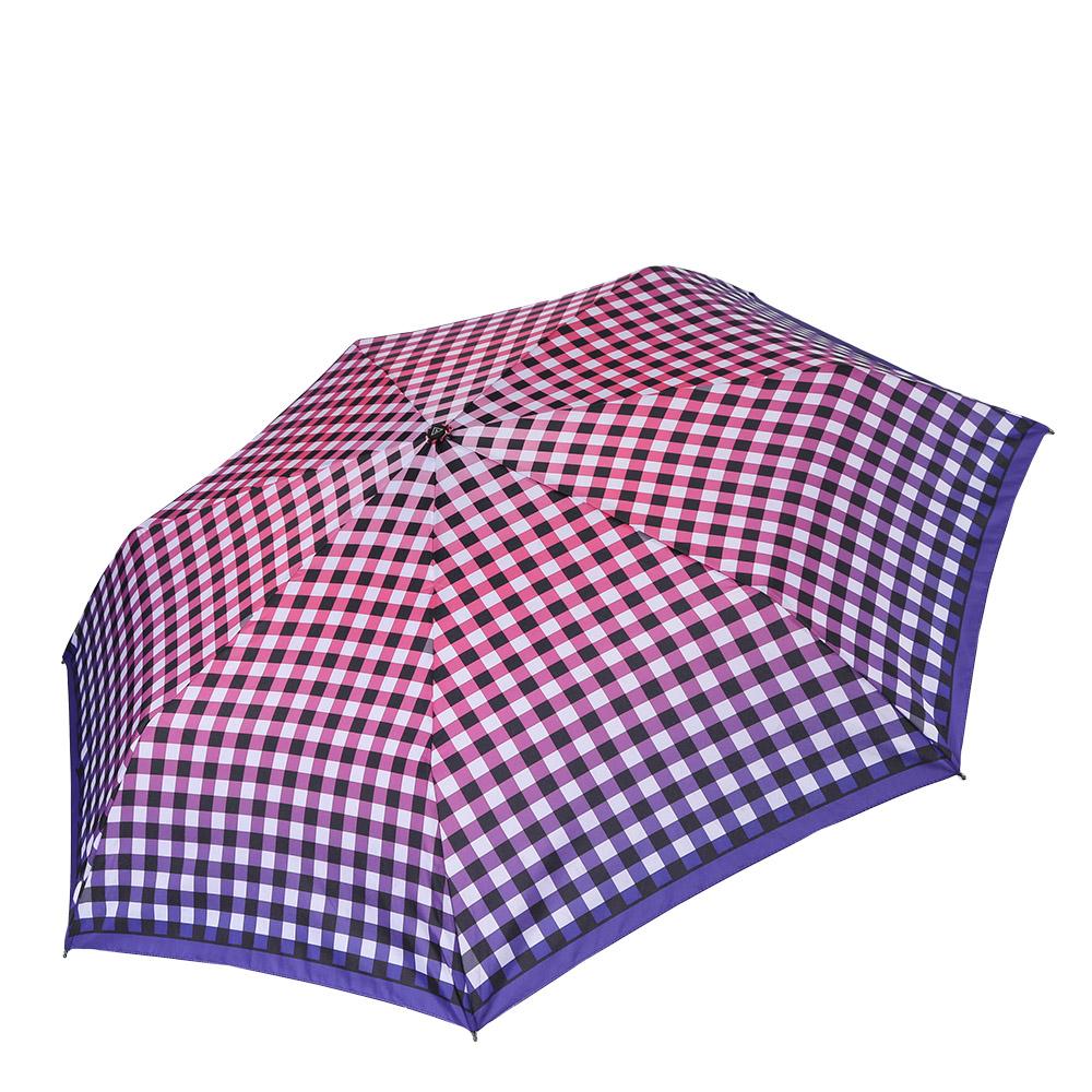 Зонт женский Fabretti, цвет: мультиколор. P-17100-11P-17100-11Компактный женский зонт от итальянского бренда Fabretti очень легок, поэтому без труда поместится в любую женскую сумку. Сочное сочетание фиолетового и розового оттенка и стильная клетка подчеркнут ваш изысканный вкус и сделают вас неотразимыми в любую непогоду! Зонт имеет автоматический механизм сложения, благодаря чему открыть зонт можно одной рукой, что чрезвычайно удобно при выходе из транспорта или помещения. Материал купола - полиэстер, обладает высокой прочностью и износостойкостью. Вода на куполе из такого материала скатывается каплями вниз, а не впитывается, на нем практически не видны следы изгибов. Эргономичная ручка сделана из высококачественного пластика-полиуретана с противоскользящей обработкой.