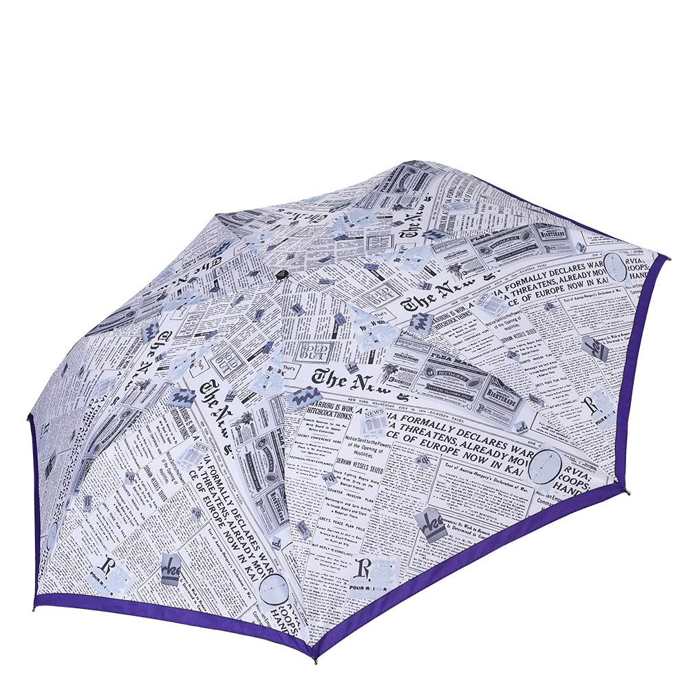 Зонт женский Fabretti, цвет: белый. P-17100-15P-17100-15Компактный зонт от итальянского бренда Fabretti. Данная модель очень легка, поэтому без труда поместится в любую женскую сумку. Элегантный белый цвет в сочетании с ультрамодным газетным принтом сделают вас неотразимыми в любую непогоду! Материал купола - эпонж, обладает высокой прочностью и износостойкостью. Вода на куполе из такого материала скатывается каплями вниз, а не впитывается, на нем практически не видны следы изгибов. Эргономичная ручка сделана из высококачественного пластика-полиуретана с противоскользящей обработкой.