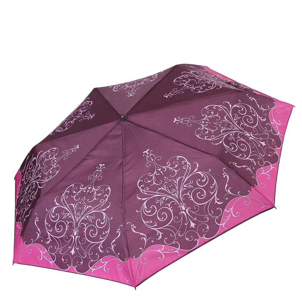Зонт женский Fabretti, цвет: красный. P-17101-10P-17101-10Компактный зонт от итальянского бренда Fabretti очень легок, поэтому без труда поместится в любую женскую сумку. Ультрамодный бардовый цвет в сочетании с изысканным принтом в стиле барокко сделают вас неотразимой в любую непогоду! Материал купола - эпонж, обладает высокой прочностью и износостойкостью. Вода на куполе из такого материала скатывается каплями вниз, а не впитывается, на нем практически не видны следы изгибов. Эргономичная ручка сделана из высококачественного пластика-полиуретана с противоскользящей обработкой.