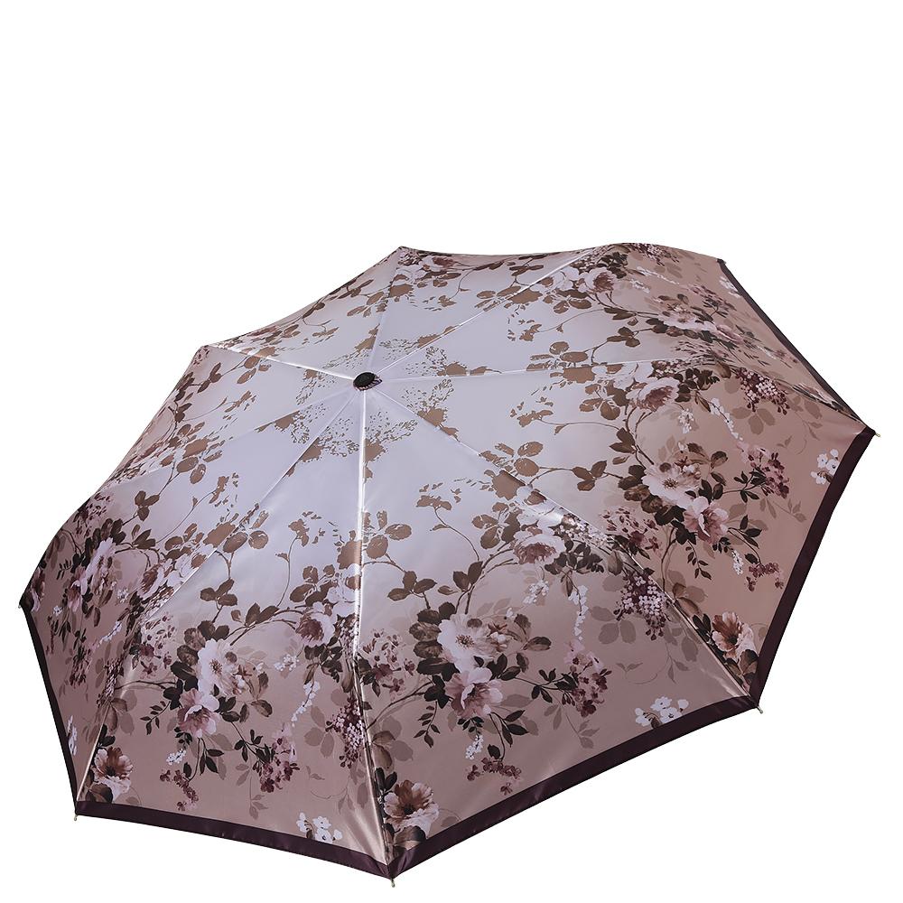 Зонт женский Fabretti, цвет: розовый. S-17100-5S-17100-5Классический женский зонт от итальянского бренда Fabretti. Элегантный светло-кофейный оттенок в сочетании с изысканным цветочным принтом с легкостью подчеркнут ваш вкус и сделают вас неотразимой в любую непогоду! Значительным преимуществом данной модели является система антиветер, которая позволяет выдержать сильные порывы ветра. Материал купола – сатин. Он невероятно изящен, приятен на ощупь, обладает высокой прочностью, а также устойчив к выцветанию. Эргономичная ручка сделана из высококачественного пластика-полиуретана с противоскользящей обработкой.