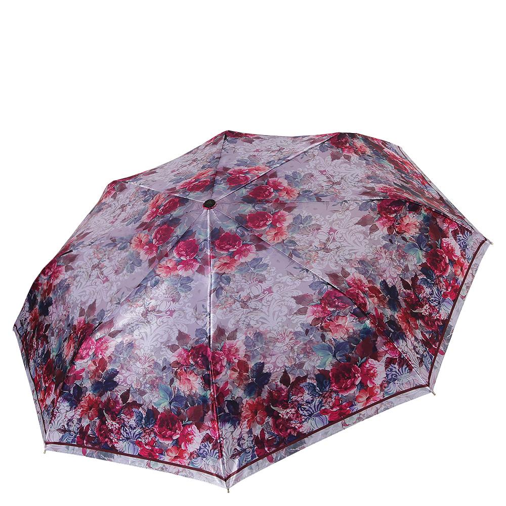 Зонт женский Fabretti, цвет: мультиколор. S-17102-4S-17102-4Классический женский зонт от итальянского бренда Fabretti. Элегантный бледно-сиреневый оттенок в сочетании с ярким и насыщенным цветочным принтом с легкостью подчеркнут ваш вкус и сделают вас неотразимой в любую непогоду! Значительным преимуществом данной модели является система антиветер, которая позволяет выдержать сильные порывы ветра. Материал купола – сатин. Он невероятно изящен, приятен на ощупь, обладает высокой прочностью, а также устойчив к выцветанию. Эргономичная ручка сделана из высококачественного пластика-полиуретана с противоскользящей обработкой.