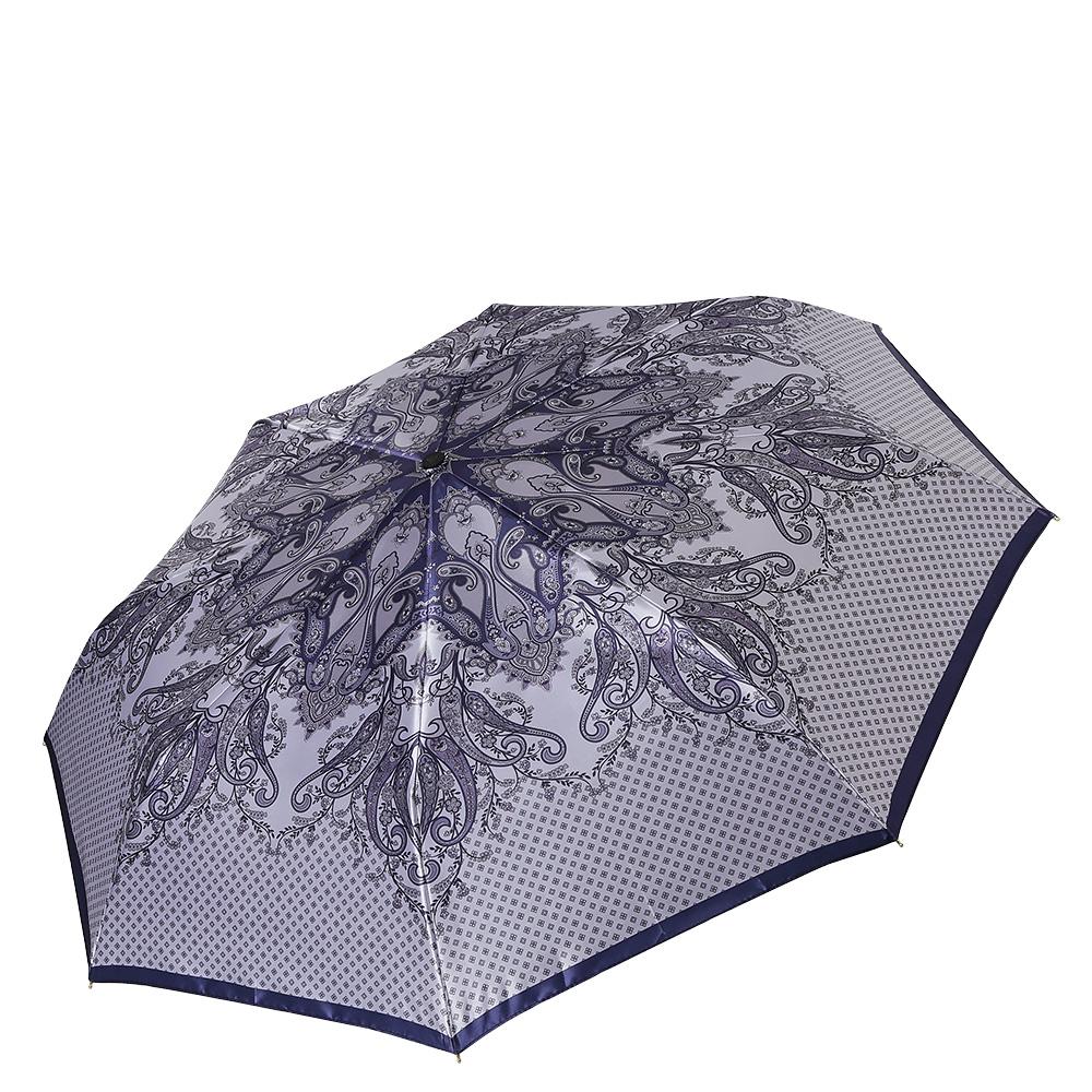 Зонт женский Fabretti, цвет: серый. S-17103-1S-17103-1Классический женский зонт от итальянского бренда Fabretti.Уникальный серый оттенок в сочетании с роскошным принтом в стиле барокко с легкостью подчеркнут ваш вкус и сделают вас неотразимой в любую непогоду! Значительным преимуществом данной модели является система антиветер, которая позволяет выдержать сильные порывы ветра. Материал купола – сатин. Он невероятно изящен, приятен на ощупь, обладает высокой прочностью, а также устойчив к выцветанию. Эргономичная ручка сделана из высококачественного пластика-полиуретана с противоскользящей обработкой.