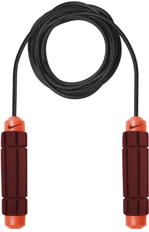 Скакалка Nike Weighted Rope 2.0 Ns, цвет: красный, черныйN.ER.11.684.NSСкакалка с утяжелителем для смягчения скорости размаха. Рукоятки с утяжелителями придают интенсивность тренировкам. Мягкие, форменные ручки.