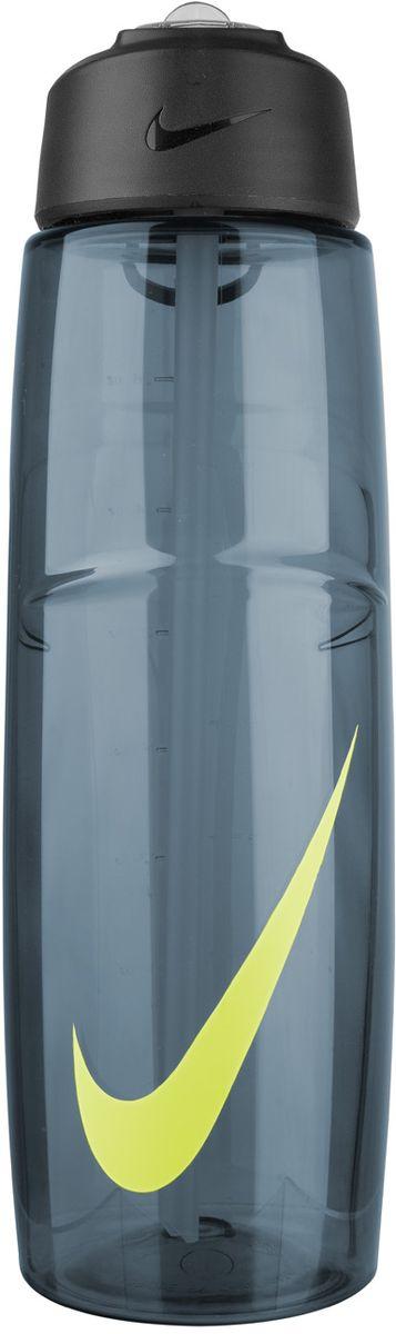 Бутылка для воды Nike T1 Flow Swoosh Water Bottle 32oz, цвет: серый, желтый, 946 млN.OB.91.421.32Бутылка для воды Nike T1 Flow Swoosh Water Bottle 32oz с горлышком, которое поднимается на 90 градусов, что обеспечивает простоту в использовании. Модель дополнена измерительной шкалой. Возможно мытье в посудомоечной машине, легко собирается и разбирается (инструкция прилагается). Технология материала Tritan обеспечивает долговечность и ударопрочность. Объем 946 мл. Длина: 25 см. Диаметр (по нижнему краю): 7,5 см.