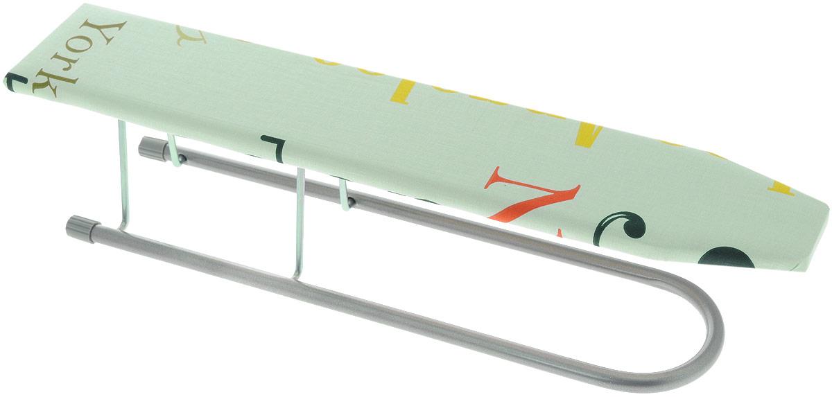Подрукавник Nika, для гладильной доски, складной, цвет: бирюзовый, 50 х 9 смП_бирюзовый