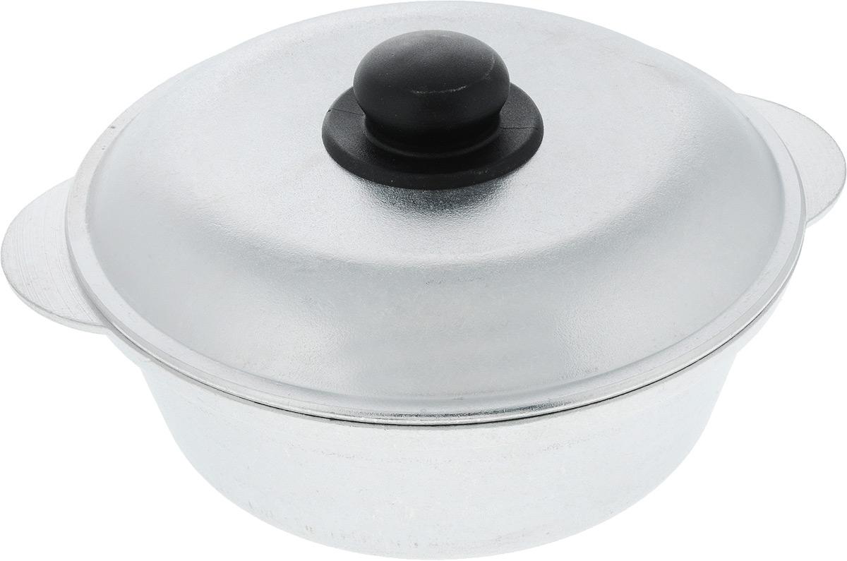 Кастрюля Алита Боярыня с крышкой, 2,5 л14900Кастрюля Алита изготовлена из литого алюминия, благодаря чему, пища не пригорает и не прилипает к стенкам. Гладкая поверхность обеспечивает легкость ухода за посудой. Кастрюля оснащена крышкой из алюминия с пластиковой ручкой. Подходит для всех типов плит, кроме индукционных. Размер кастрюли (по верхнему краю с учетом ручек): 29 см. Высота стенки кастрюли: 8,7 см. Диаметр крышки: 25 см.
