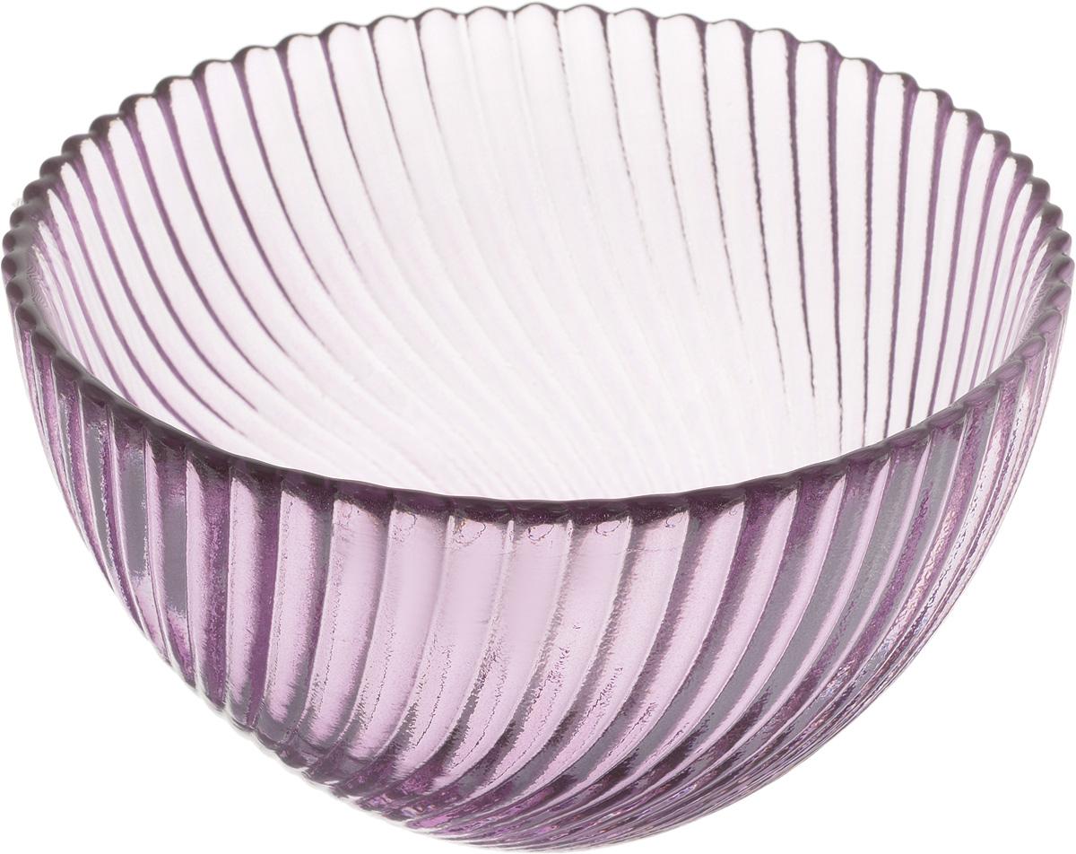 Салатник NiNaGlass Альтера, цвет: сиреневый, диаметр 12 см83-036-ф120 СИРСалатник NiNaGlass Альтера изготовлен из прочного стекла. Идеально подходит для сервировки стола. Салатник не только украсит ваш кухонный стол и подчеркнет прекрасный вкус хозяйки, но и станет отличным подарком. Диаметр салатника (по верхнему краю): 12 см. Высота салатника: 7,5 см.