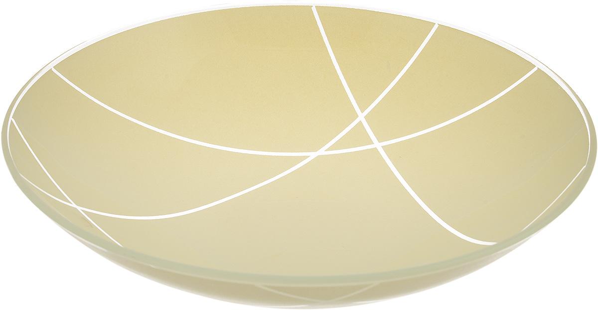 Тарелка глубокая NiNaGlass Контур, цвет: светло-бежевый, диаметр 22 см85-225-002/белТарелка NiNaGlass Контур выполнена из высококачественного стекла. Она прекрасно впишется в интерьер вашей кухни и станет достойным дополнением к кухонному инвентарю. Тарелка NiNaGlass Контур подчеркнет прекрасный вкус хозяйки и станет отличным подарком. Диаметр тарелки: 22 см. Высота: 5 см.