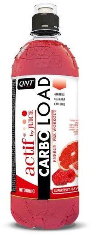 QNT Карбо Лоад, Суперфрукты, 700 млQNT1149Thermo Booster идеален для употребления перед физическими нагрузками. Это утоляющий жажду напиток с натуральным фруктовым соком, с повышенным содержанием кофеина и L-карнитином. Без калорий.
