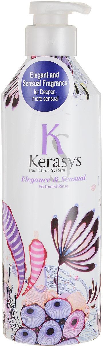 Kerasys Кондиционер для волос Perfumed. Элеганс, 600 мл992746Специально разработанная формула для тонких и ослабленных волос, укрепляет и восстанавливает структуру волос по всей длине. Волосы обретают жизненную силу, эластичность и объем. Содержит витамины А и Е, масло оливы и масло ши. Аромат изысканный и грациозный, с нотками лилового цвета для современной и утонченной натуры. Подчеркнет ваш стиль и элегантность. Характеристики: Объем: 600 мл. Артикул: 992746. Производитель: Корея. Товар сертифицирован.