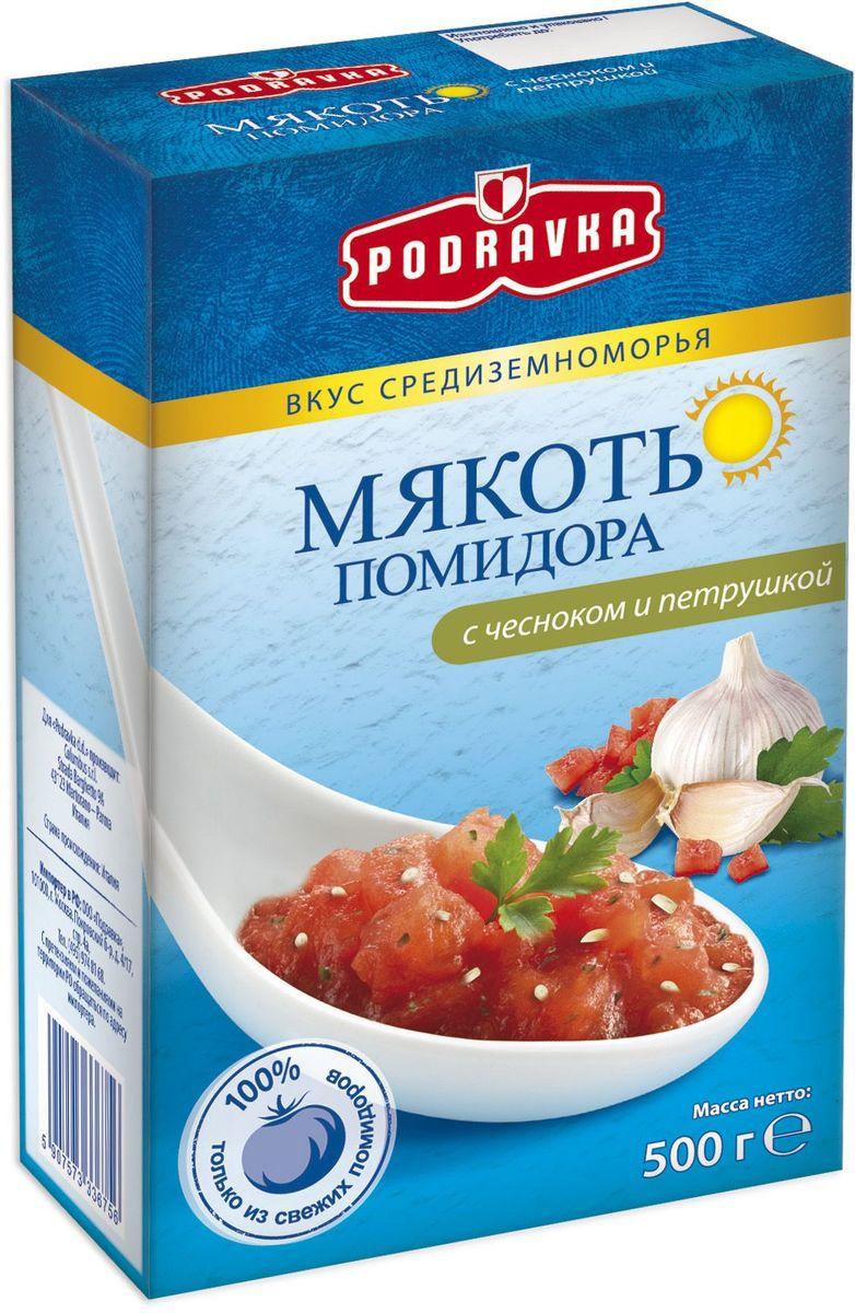 Podravka мякоть помидора с чесноком и петрушкой, 500 г 3160011
