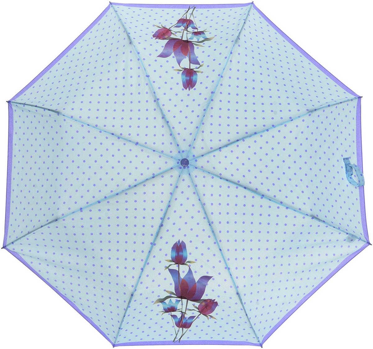Зонт женский Airton, механический, 3 сложения, цвет: белый, фуксия. 3511-1803511-180Классический женский зонт Airton в 3 сложения имеет механическую систему открытия и закрытия. Каркас зонта выполнен из восьми спиц на прочном стержне. Купол зонта изготовлен из прочного полиэстера. Практичная рукоятка закругленной формы разработана с учетом требований эргономики и выполнена из качественного пластика с противоскользящей обработкой. Такой зонт оснащен системой антиветер, которая позволяет спицам при порывах ветрах выгибаться наизнанку, и при этом не ломаться. К зонту прилагается чехол.