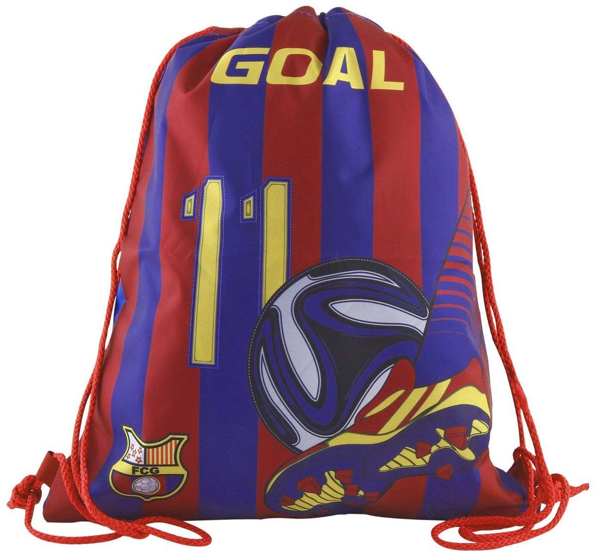 Target Collection Сумка для детской сменной обуви цвета FC Barcelona 1724317243Сумка для переноски детской обуви, выполнена из плотного водостойкого материала, затягивается сверху шнурком и носится, как рюкзак.