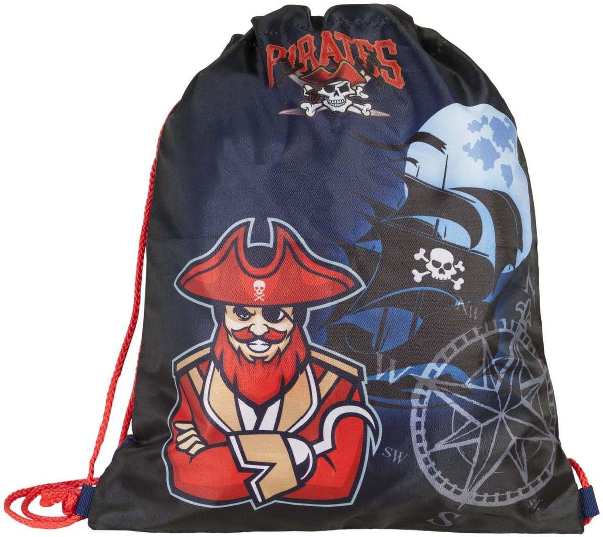 Target Collection Сумка для детской сменной обуви Пираты 1792717927Сумка для переноски детской обуви, выполнена из плотного водостойкого материала, затягивается сверху шнурком и носится, как рюкзак.