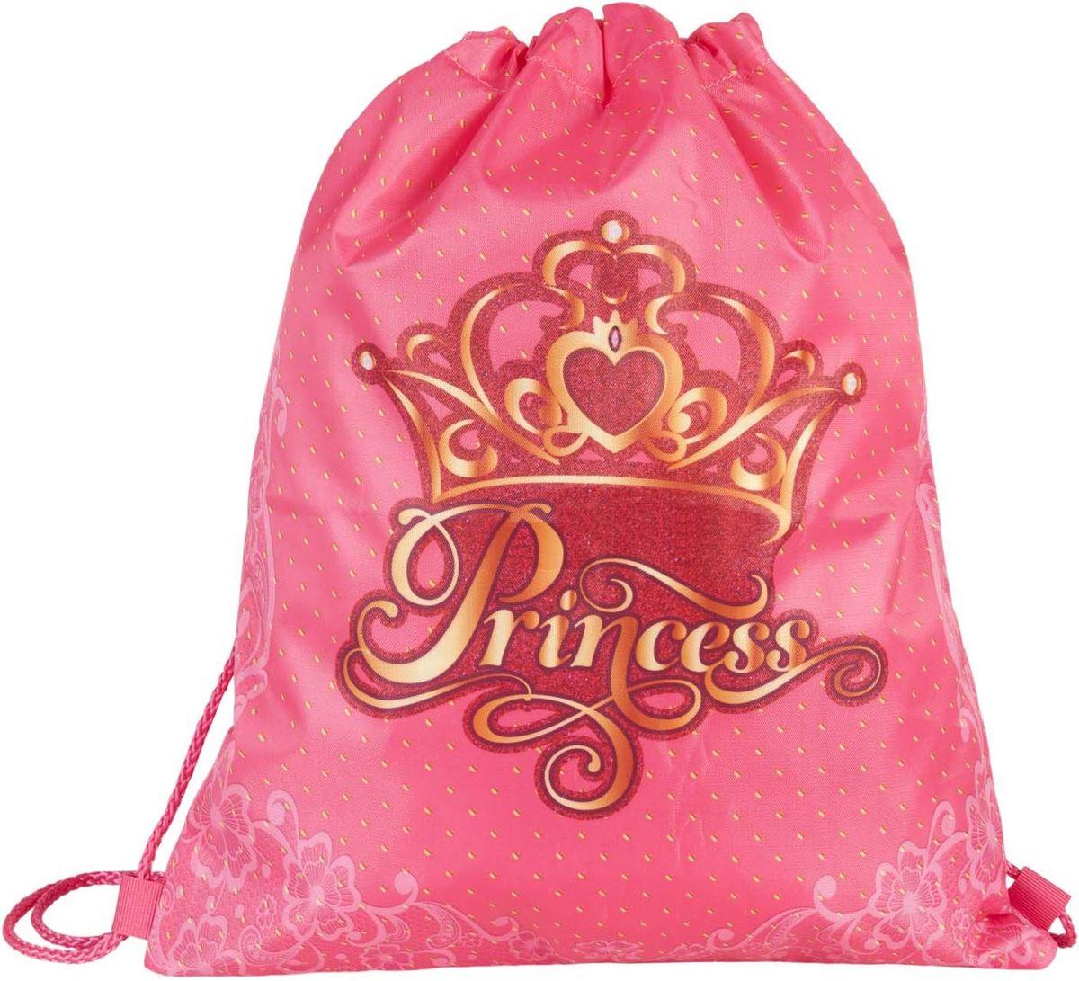 Target Collection Сумка для детской сменной обуви Принцесса 1790817908Сумка для переноски детской обуви, выполнена из плотного водостойкого материала, затягивается сверху шнурком и носится, как рюкзак.