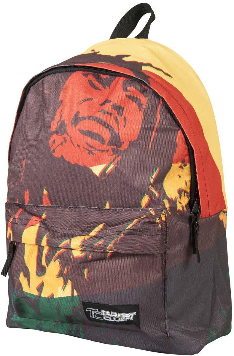 Target Collection Рюкзак Rasta 1738217382Рюкзак молодежный с одним большим отделением, на передней стенке рюкзака большой карман на молнии, дополнительная ручка-петля, регулируемые лямки