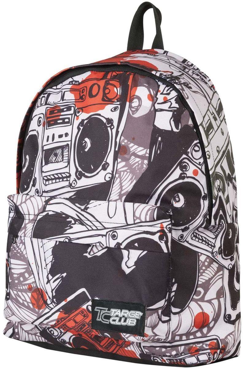 Target Collection Рюкзак Music 1737717377Рюкзак молодежный с одним большим отделением, на передней стенке рюкзака большой карман на молнии, дополнительная ручка-петля, регулируемые лямки