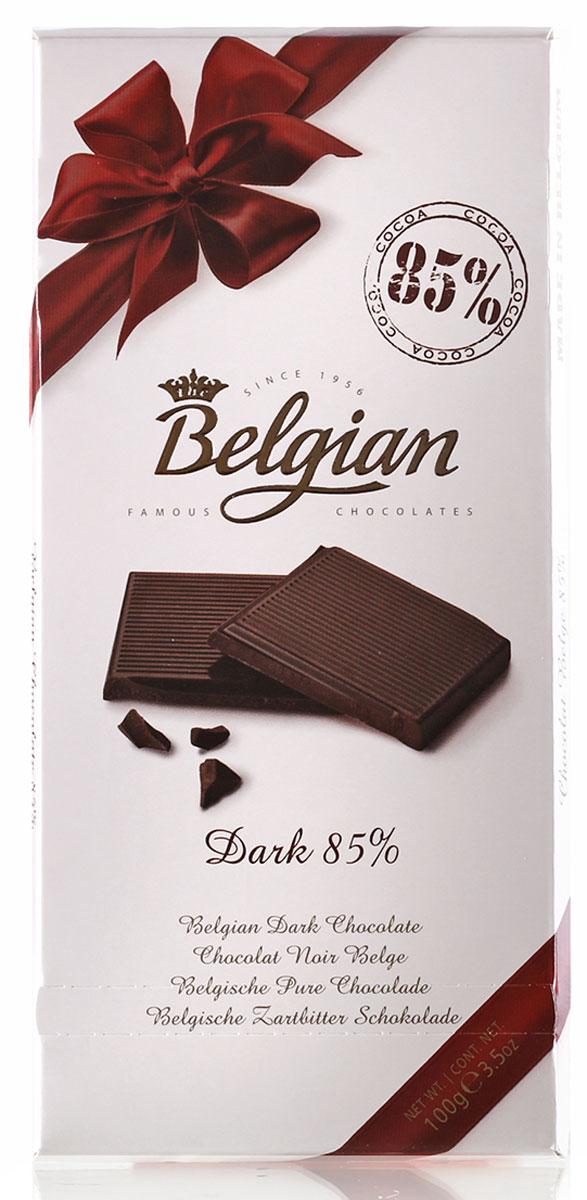 The Belgian Шоколад горький 85% какао, 100 г7.33.05Классический, весьма интенсивный горьковато-сладкий вкус шоколада оставляет пикантное послевкусие. Шоколад прекрасен в сочетании с чаем, кофе или капучино. Его подают к коньяку или арманьяку, портвейну и красным сухим винам. Лакомство также можно предложить к миндальному или кофейному ликерам.