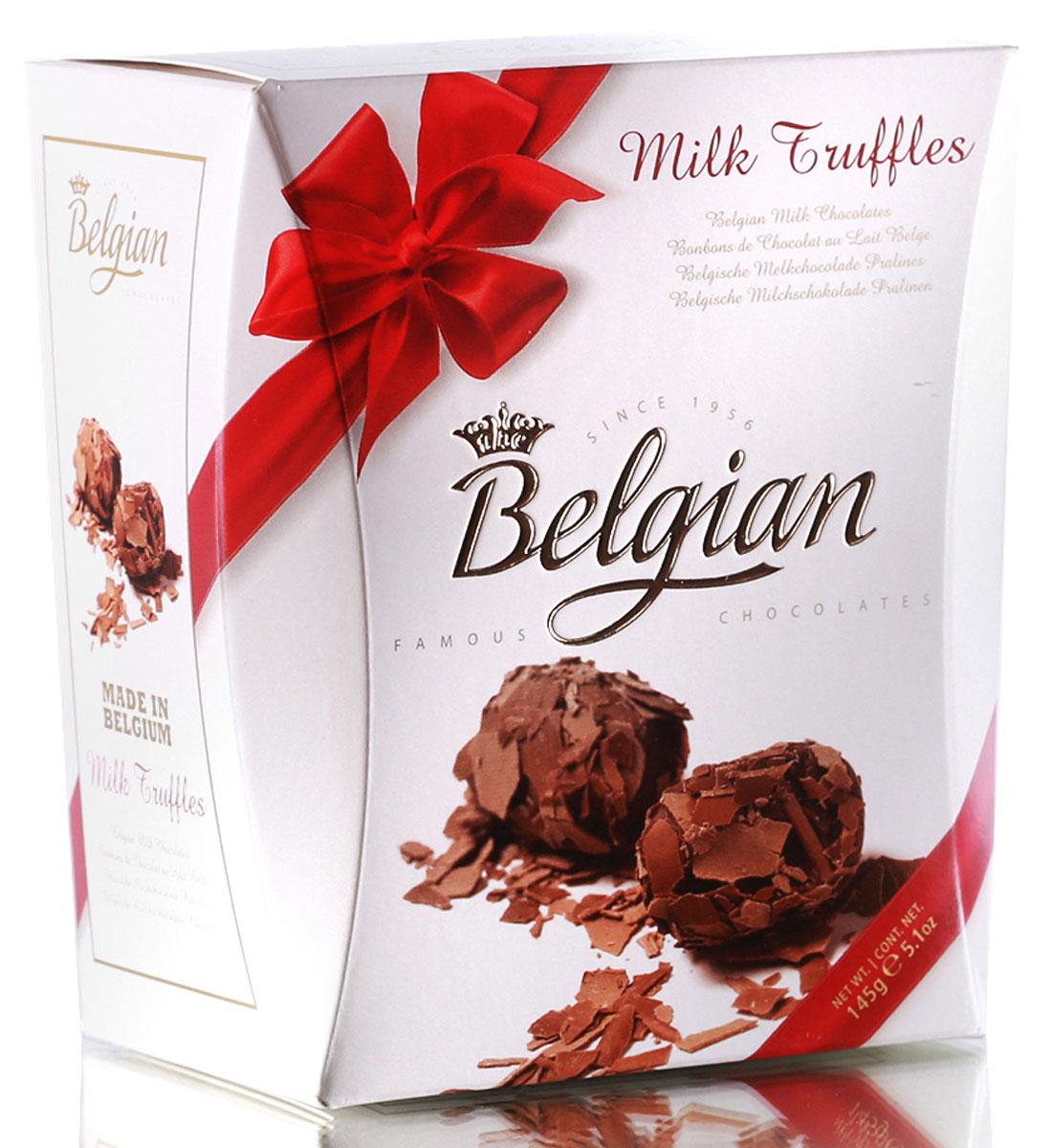 The Belgian Трюфели из молочного шоколада в хлопьях, 145 г 7.37.04