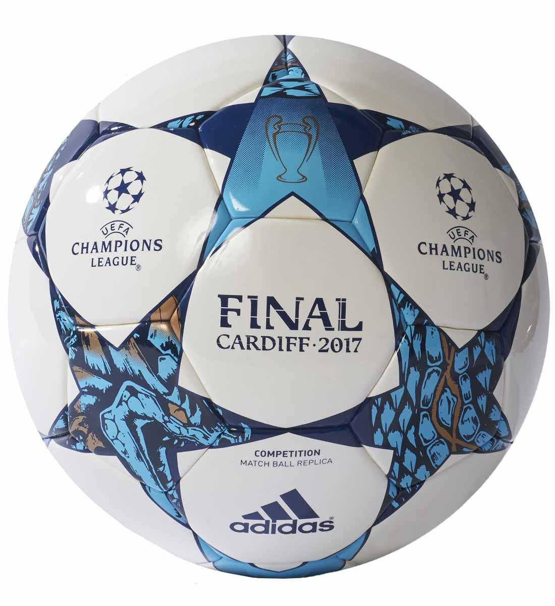 Мяч футбольный Adidas Finale Cdf Cap, цвет: белый, синий. Размер 5AZ5204Машинное плетение делает этот мяч прочным и долговечным. Бутиловый пузырь придет равномерное давление по всей поверхности. Украшен логотипом кубка конфедераций 2017.