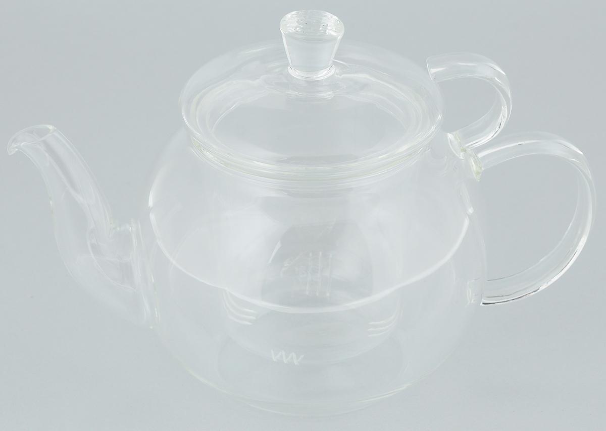 Чайник заварочный Mayer & Boch, с фильтром, 600 мл. 2493724937Заварочный чайник Mayer & Boch полностью выполнен из боросиликатного стекла - прочного износостойкого материала. Чайник оснащен съемным фильтром и крышкой. Фильтр задерживает чаинки и предотвращает их попадание в чашку. Благодаря прозрачности стенок можно наблюдать степень заварки напитка. Чай в таком чайнике дольше остается горячим, а полезные и ароматические вещества полностью сохраняются в напитке. Чайник может быть использован для подачи как горячих, так и холодных напитков. Простой и удобный чайник поможет вам приготовить крепкий ароматный чай. Изящный стиль чайника прекрасно дополнит сервировку стола к чаепитию. Диаметр чайника (по верхнему краю): 7,5 см. Высота чайника (без учета ручки и крышки): 9,5 см. Высота фильтра: 8 см.
