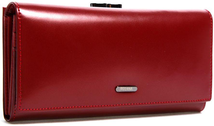 Портмоне женское Milana, цвет: бордовый. 152-6-41