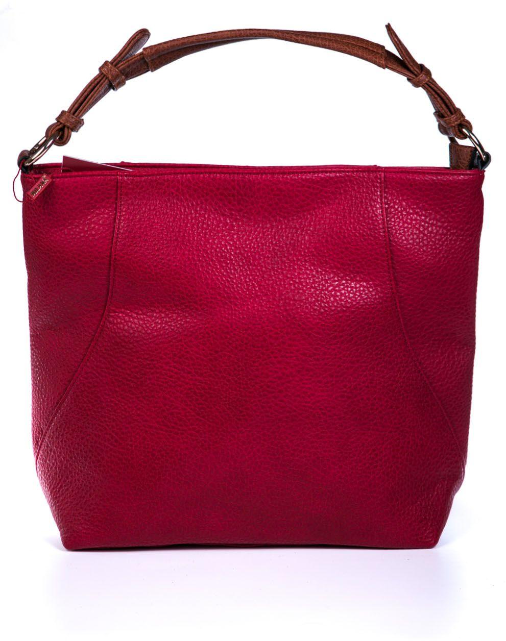 Сумка женская Milana, цвет: красный. 162781-1-140162781-1-140Удобная женская сумка Milana изготовлена из искусственной кожи. Внутренняя подкладка выполнена из искусственного шелка. Сумка закрывается на застежку молнию. Сумка дополнена внутренними вкладышами разных размеров. Внутри имеется одно основное отделение, которое оснащено одним втачным карманом на молнии и двумя накладными открытыми кармашками. Модель оснащена, регулируемой по размеру, ручкой на запястье. Оригинальный аксессуар позволит вам завершить образ и быть неотразимой.
