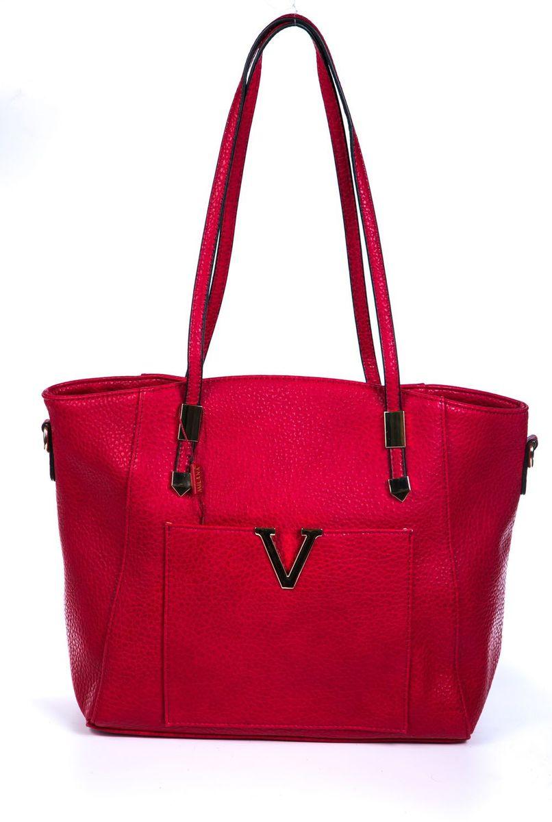 Сумка женская Milana, цвет: красный. 162790-1-140162790-1-140