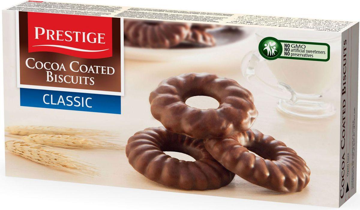 Prestige Печенье классическое в какао глазури, 175 г