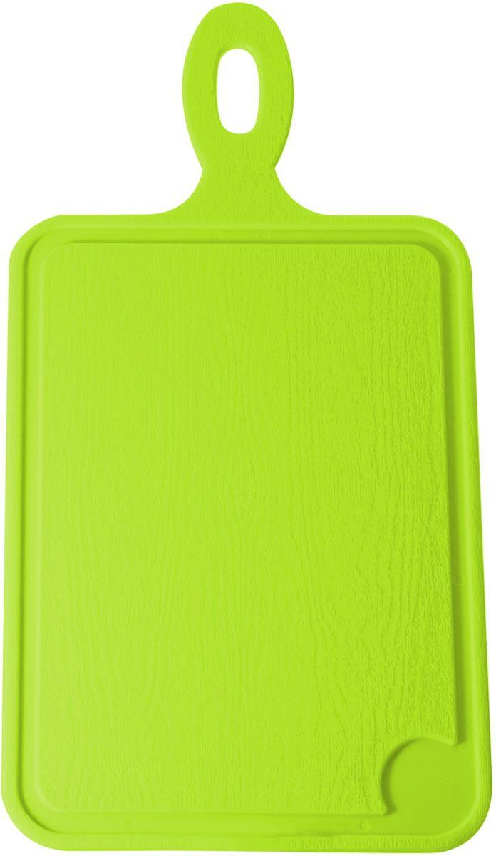 Доска разделочная Plastic Centre, цвет: светло-зеленый, 35 х 19 смПЦ1491ЛМРазделочная доска может применяться для различных видов продуктов. Каждая доска снабжена желобком для стока жидкости для удобства применения. Доска не впитывает запахи, устойчива к воздействию ножом, благодаря чему изделие более долговечно. На кухне рекомендовано иметь несколько досок для различных видов продуктов: мяса, рыбы, хлеба и овощей.