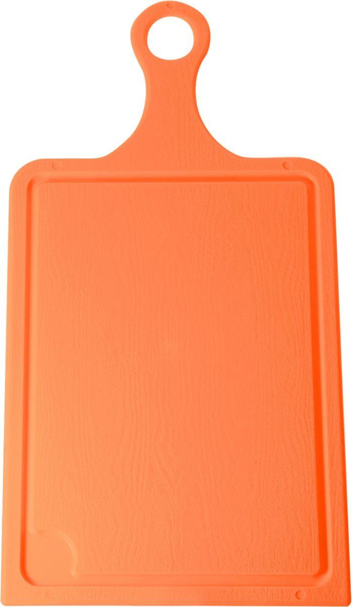 Доска разделочная Plastic Centre, цвет: оранжевый, 35 х 19 см. ПЦ1493МНДПЦ1493МНДРазделочная доска может применяться для различных видов продуктов. Каждая доска снабжена желобком для стока жидкости для удобства применения. Доска не впитывает запахи, устойчива к воздействию ножом, благодаря чему изделие более долговечно. На кухне рекомендовано иметь несколько досок для различных видов продуктов: мяса, рыбы, хлеба и овощей.