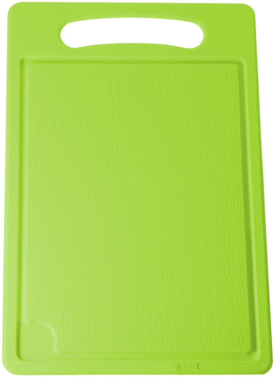 Доска разделочная Plastic Centre, цвет: светло-зеленый, 45 х 29 смПЦ1495ЛМРазделочная доска может применяться для различных видов продуктов. Каждая доска снабжена желобком для стока жидкости для удобства применения. Доска не впитывает запахи, устойчива к воздействию ножом, благодаря чему изделие более долговечно. На кухне рекомендовано иметь несколько досок для различных видов продуктов: мяса, рыбы, хлеба и овощей.