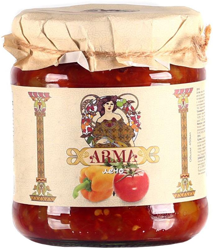 ARMA Лечо, 450 мл10.52.28Лечо - знаменитое венгерское блюдо, прижившееся на столах во многих странах. Лечо употребляют в качестве гарнира, либо как самостоятельное блюдо.