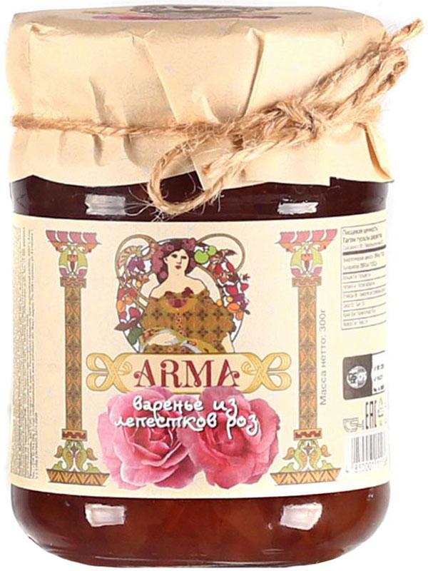 ARMA Варенье из лепестков роз, 300 г10.52.05Еще в древние времена лечебные свойства розы использовали в медицине и косметологии. Роза - без преувеличения кладезь полезных веществ. В лепестках розы содержатся витамины групп В, С и К, каротин, кальций, калий, медь. Много в розах железа, магния. Есть и селен, который способен активно бороться с процессами старения клеток, и цинк, который необходим для нормального роста волос и ногтей. Получается, что роза - настоящая аптека, которая способна излечить многие недуги. Безусловно, одним из самых вкусных продуктов из роз является варенье из лепестков. Варенье из лепестков роз полезно при авитаминозах и недостатке минеральных веществ, при гастритах и язве желудка. Розовое варенье нормализует работу пищеварительного тракта, устраняет явления дисбактериоза кишечника, очищает организм от шлаков. Розовое варенье - лучшее средство при простуде, гриппе, ангине и бронхите. Отлично повышает иммунитет и улучшает сон.