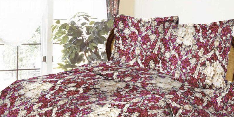 Комплект белья ROKO Барокко, 1,5-спальный, наволочки 70х70, цвет: бордовый, серый меланж115869Комплект белья ROKO состоит из простыни, пододеяльник и 2 наволочек. Для производства постельного белья используются экологичные ткани высочайшего качества. Бязь - хлопчатобумажная плотная ткань полотняного переплетения. Отличается прочностью и стойкостью к многочисленным стиркам. Бязь считается одной из наиболее подходящих тканей, для производства постельного белья и пользуется в России большим спросом.