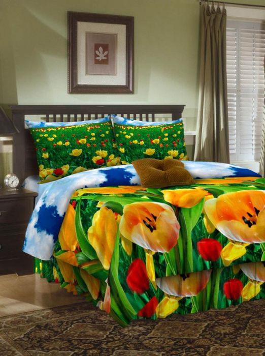 Комплект белья ROKO, 2-спальный, наволочки 70х70, цвет: зеленый204Комплект белья ROKO состоит из простыни, пододеяльника и 2 наволочек. Для производства постельного белья используются экологичные ткани высочайшего качества. Бязь - хлопчатобумажная плотная ткань полотняного переплетения. Отличается прочностью и стойкостью к многочисленным стиркам. Бязь считается одной из наиболее подходящих тканей, для производства постельного белья и пользуется в России большим спросом.