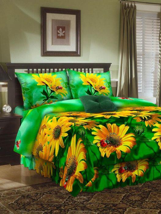 Комплект белья ROKO, 2-спальный, наволочки 70х70, цвет: зеленый, желтый115895Комплект белья ROKO состоит из простыни, пододеяльника и 2 наволочек. Для производства постельного белья используются экологичные ткани высочайшего качества. Бязь - хлопчатобумажная плотная ткань полотняного переплетения. Отличается прочностью и стойкостью к многочисленным стиркам. Бязь считается одной из наиболее подходящих тканей, для производства постельного белья и пользуется в России большим спросом.