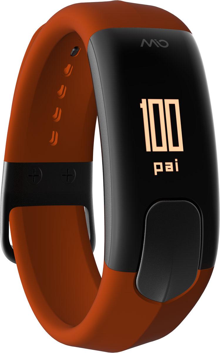Фитнес-трекер Mio Slice Small, цвет: коричневый. 60P-SIE-SMA60P-SIE-SMAMio SLICE - это первое носимое устройство, которое записывает ваш пульс в течение всего дня и преобразует собранные данные в очки PAI (Personal Activity Intelligence). PAI - это революционный персонализированный индекс активности, учитывающий реакцию организма на физические нагрузки. Помимо пульса, SLICE также позволяет отслеживать качество сна, расход калорий, дистанцию и другие показатели. И все это в одном стильном, влагозащищенном устройстве с простым и понятным управлением. Учет и отображение на дисплее очков PAI Круглосуточный контроль пульса (оптический датчик Mio) Подсчет ежедневной активности (шаги, калории, дистанция) Анализ качества сна по пульсу и минимального ЧСС за ночь Уведомления о входящих звонках и текстовых сообщениях со смартфона Влагозащищенность: выдерживает погружение на глубину до 30 метров. Аккумулятор: одного заряда хватает на 5 дней активного использования Встроенная память: может сохранять до 7 дней полных данных об...