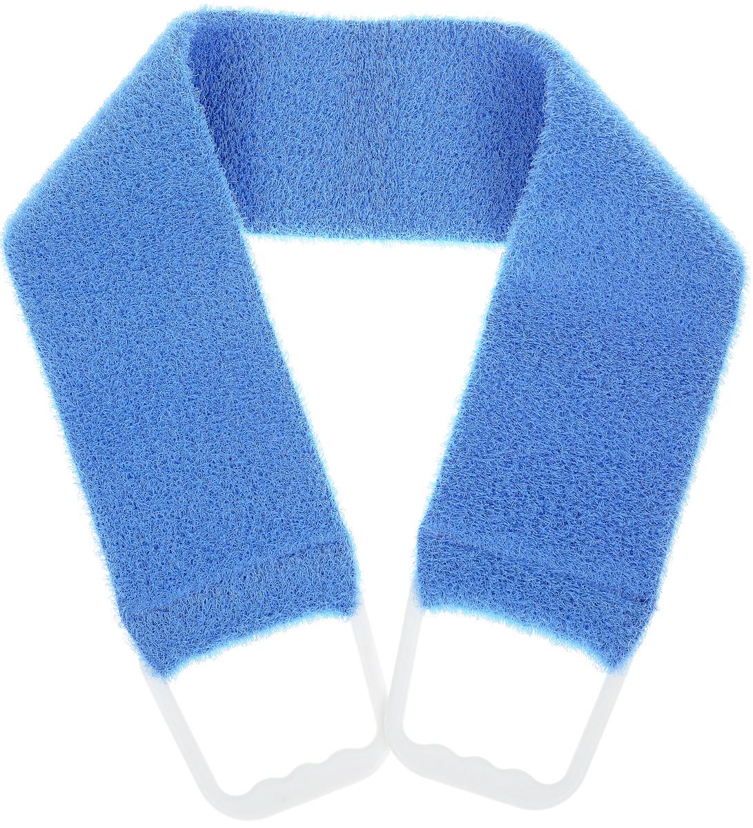 Riffi Мочалка-пояс, массажная, жесткая, цвет: синий720_синийRiffi Мочалка-пояс, массажная, жесткая, цвет: синий